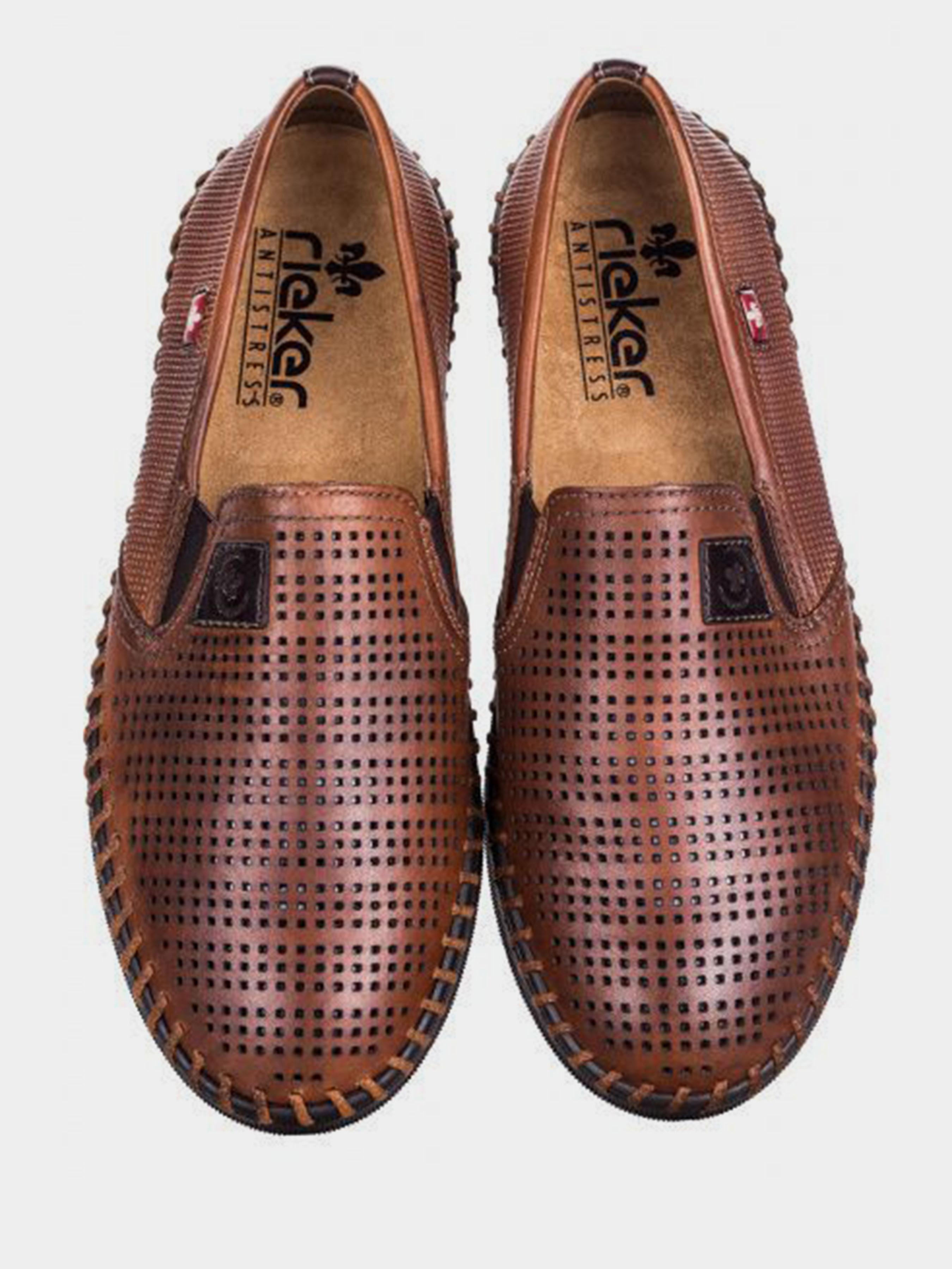 Cлипоны для мужчин RIEKER RK662 размеры обуви, 2017