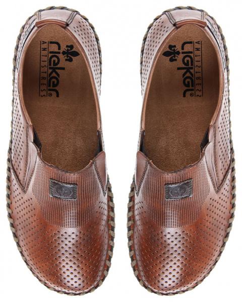 Cлипоны для мужчин RIEKER RK680 размеры обуви, 2017