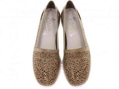 Слипоны для женщин RIEKER 53756(40) модная обувь, 2017