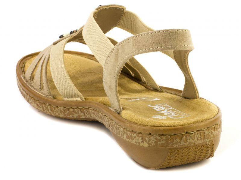 Босоножки для женщин RIEKER 62851(60) модная обувь, 2017