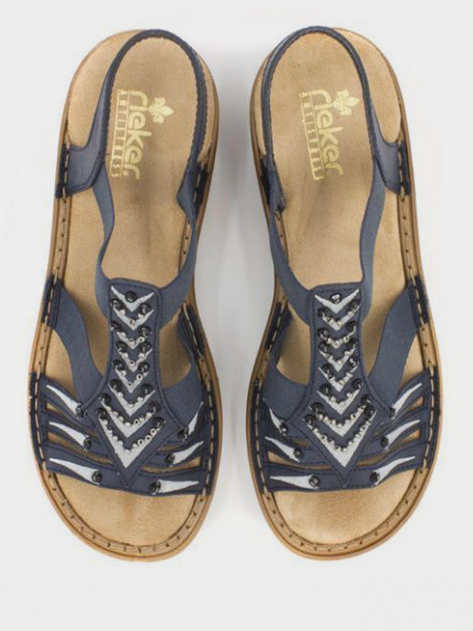 Сандалі  для жінок RIEKER 62861(14) модне взуття, 2017