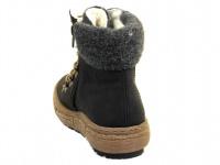 Ботинки для женщин RIEKER Z7943(00) модная обувь, 2017
