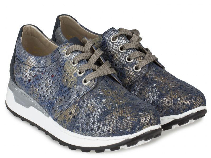 Туфли для женщин RIEKER RW1091 примерка, 2017