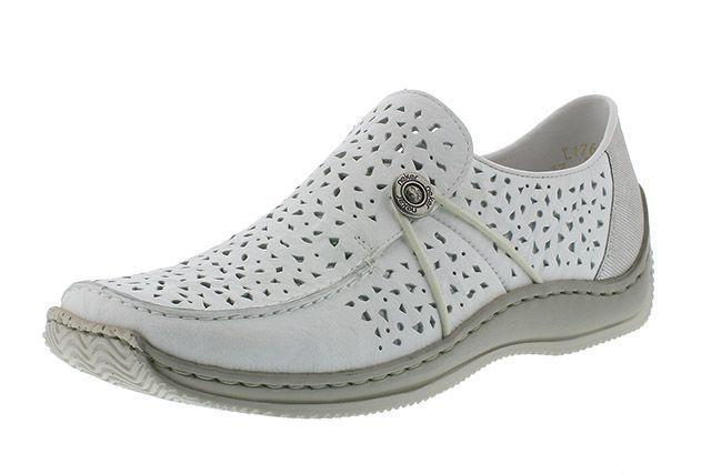 Туфли для женщин RIEKER RW1097 примерка, 2017