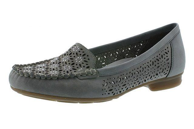 Туфли для женщин RIEKER RW1108 примерка, 2017