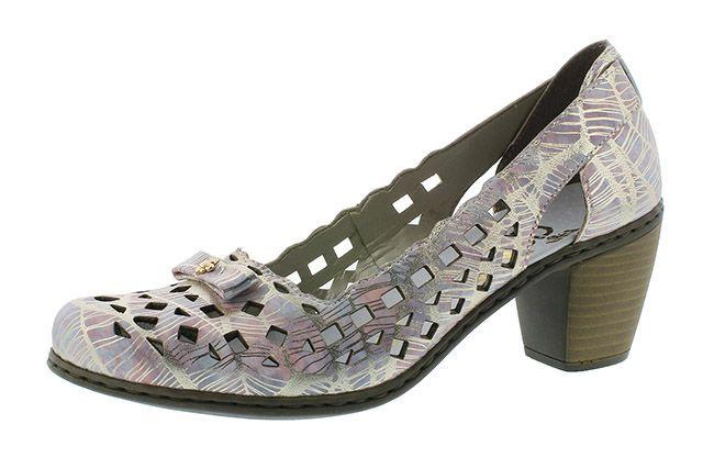 Туфли для женщин RIEKER RW1109 примерка, 2017