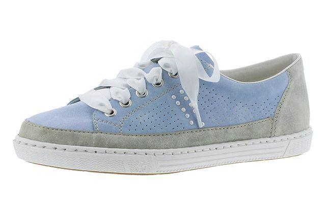 Купить Туфли для женщин RIEKER RW1128, Голубой