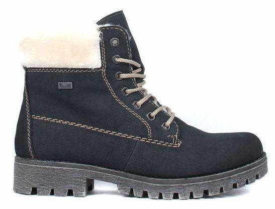 Купить Ботинки для женщин RIEKER RW1142, Синий