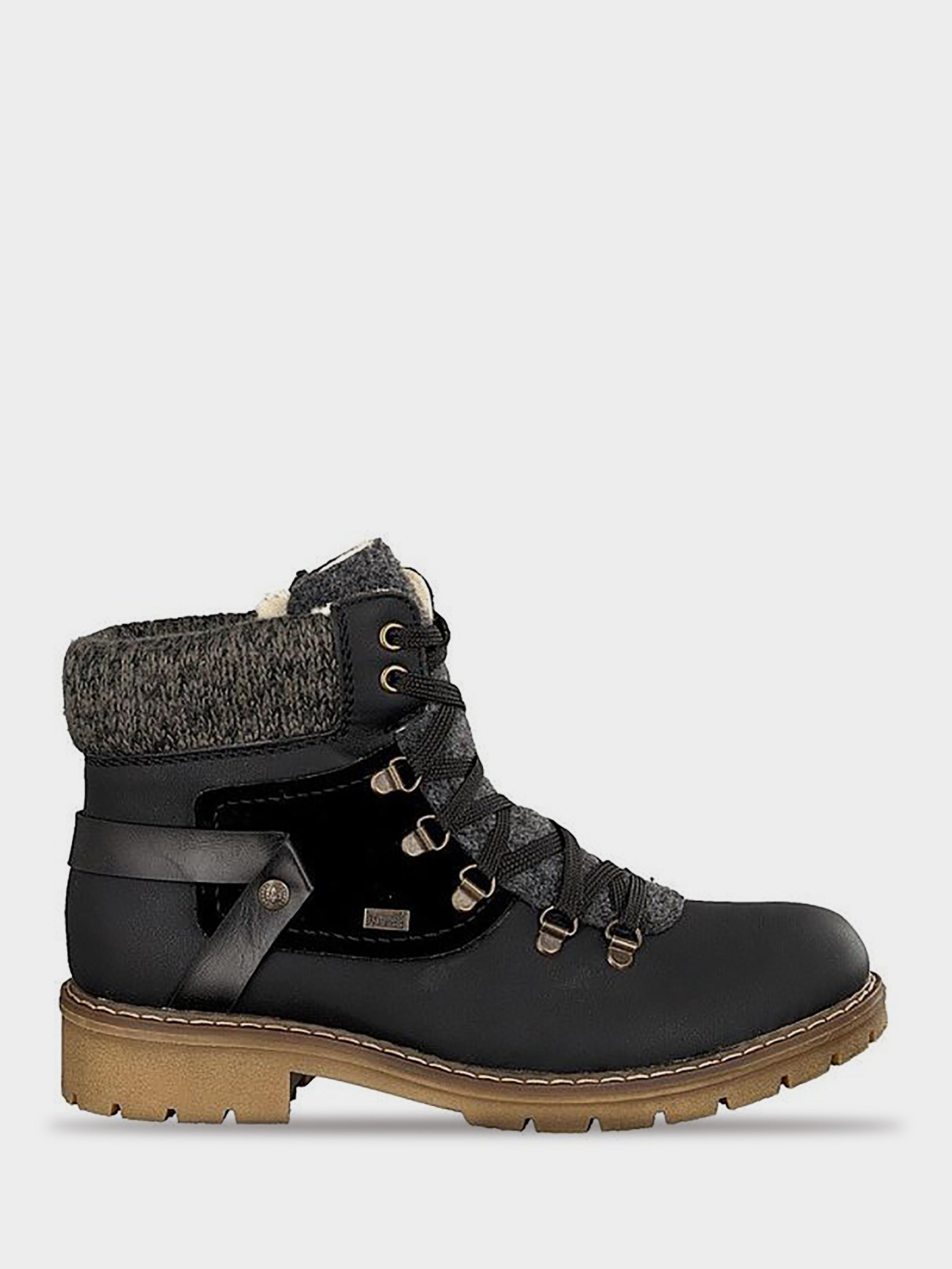 Купить Ботинки женские RIEKER RW1160, Черный