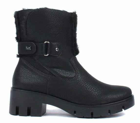 Купить Ботинки для женщин RIEKER RW1179, Черный