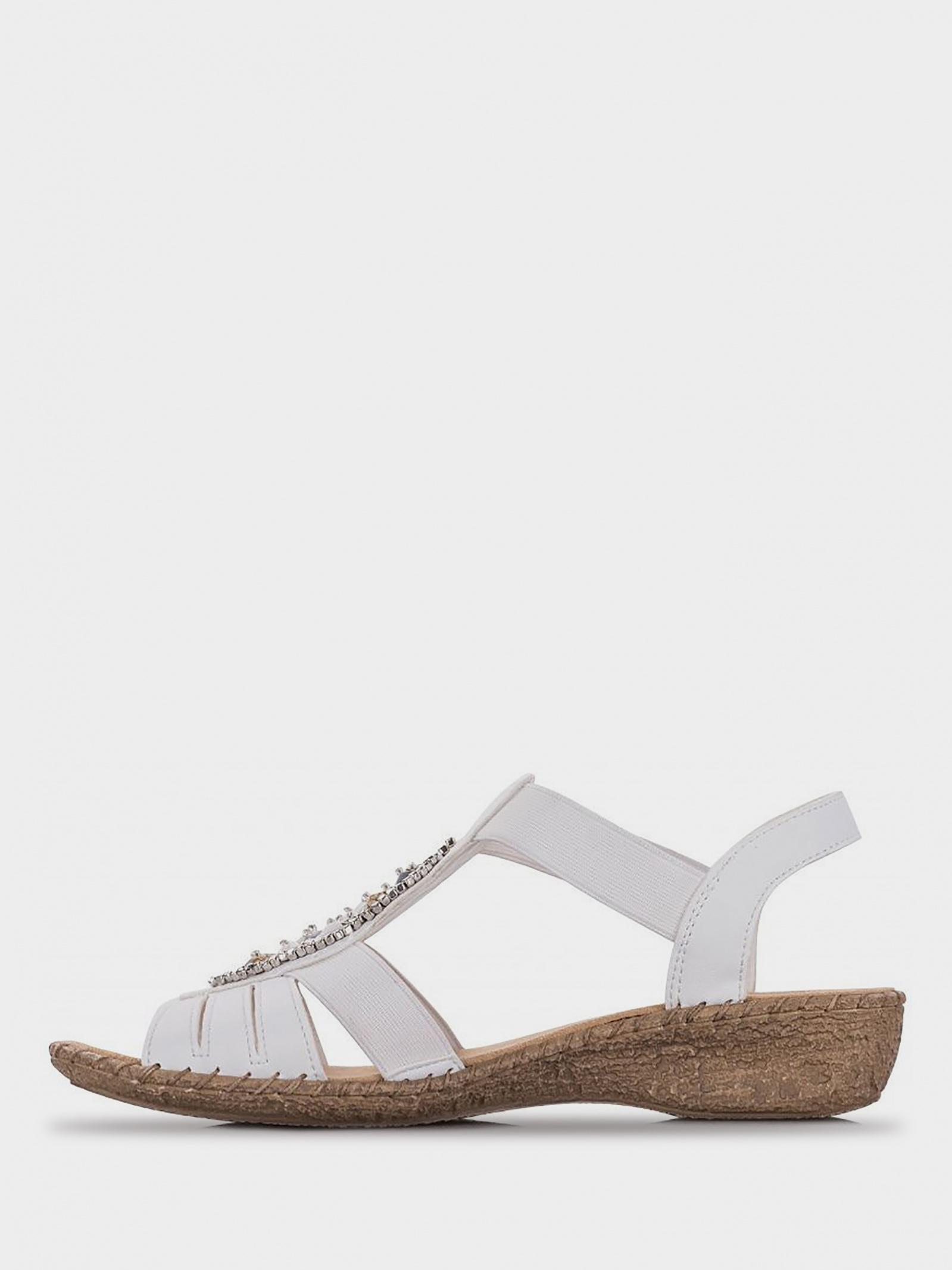 Сандалі  для жінок RIEKER 61661/80 розміри взуття, 2017