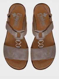 Сандалі  для жінок RIEKER 63687/64 модне взуття, 2017
