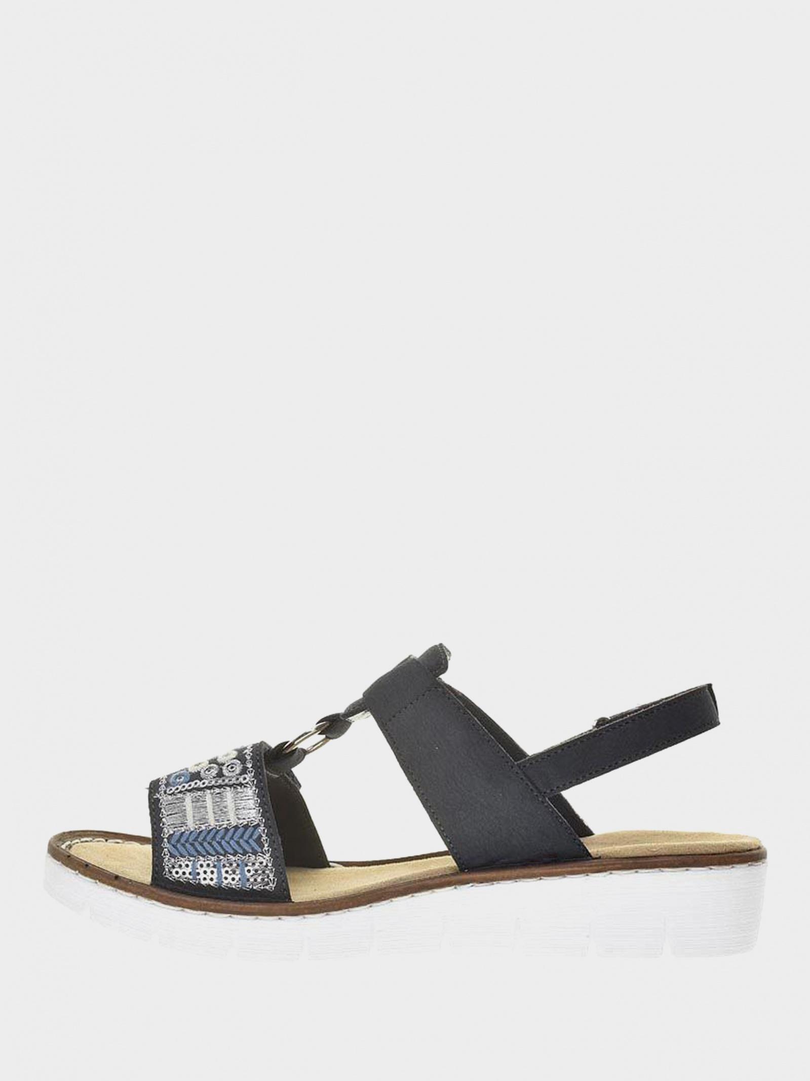 Сандалі  жіночі RIEKER сандалі жін. (36-41) 600D8/14 купити в Iнтертоп, 2017