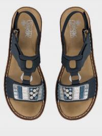 Сандалі  жіночі RIEKER сандалі жін. (36-41) 600D8/14 модне взуття, 2017