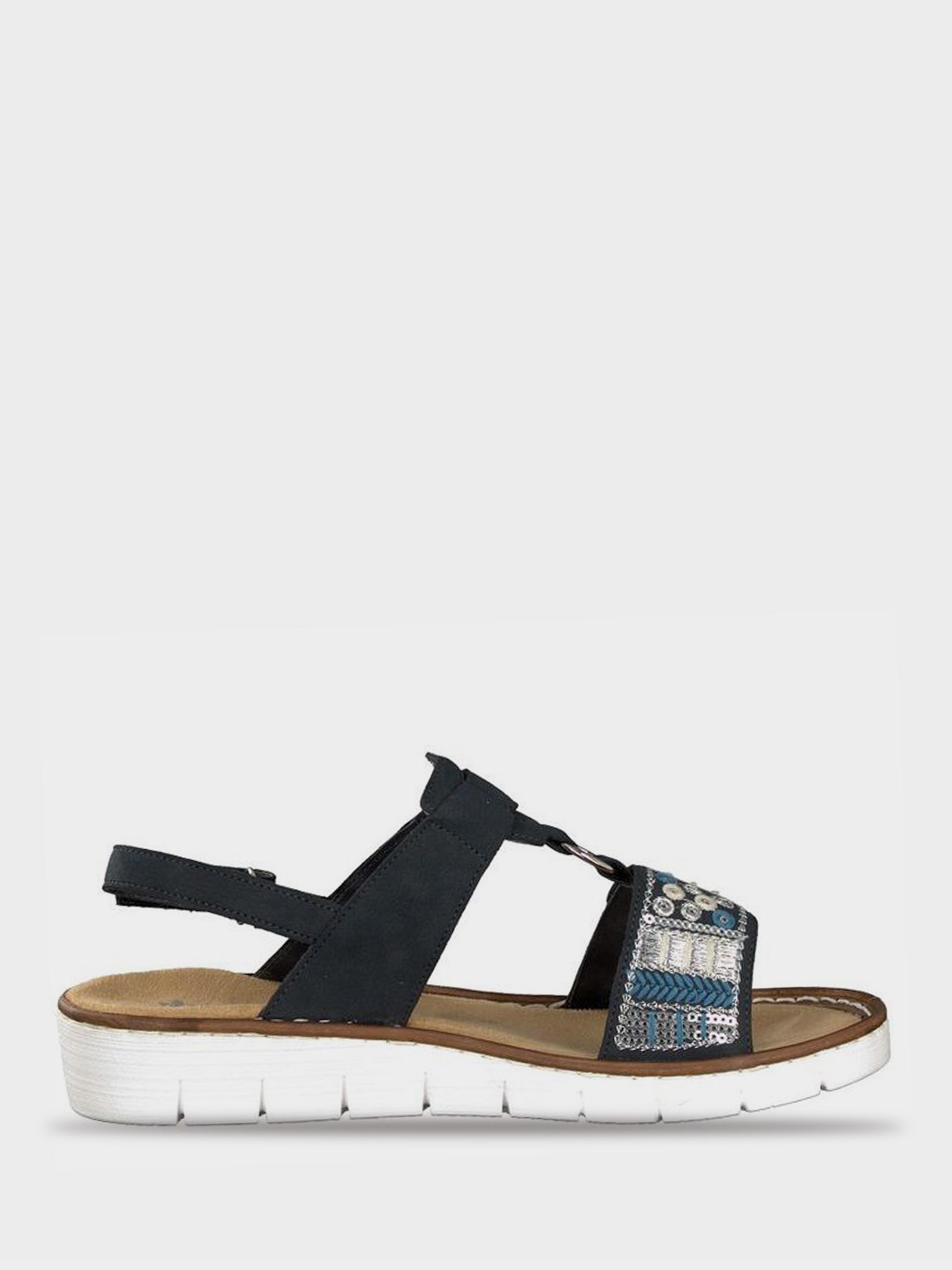 Сандалии женские RIEKER сандалі жін. (36-41) RW1202 купить, 2017