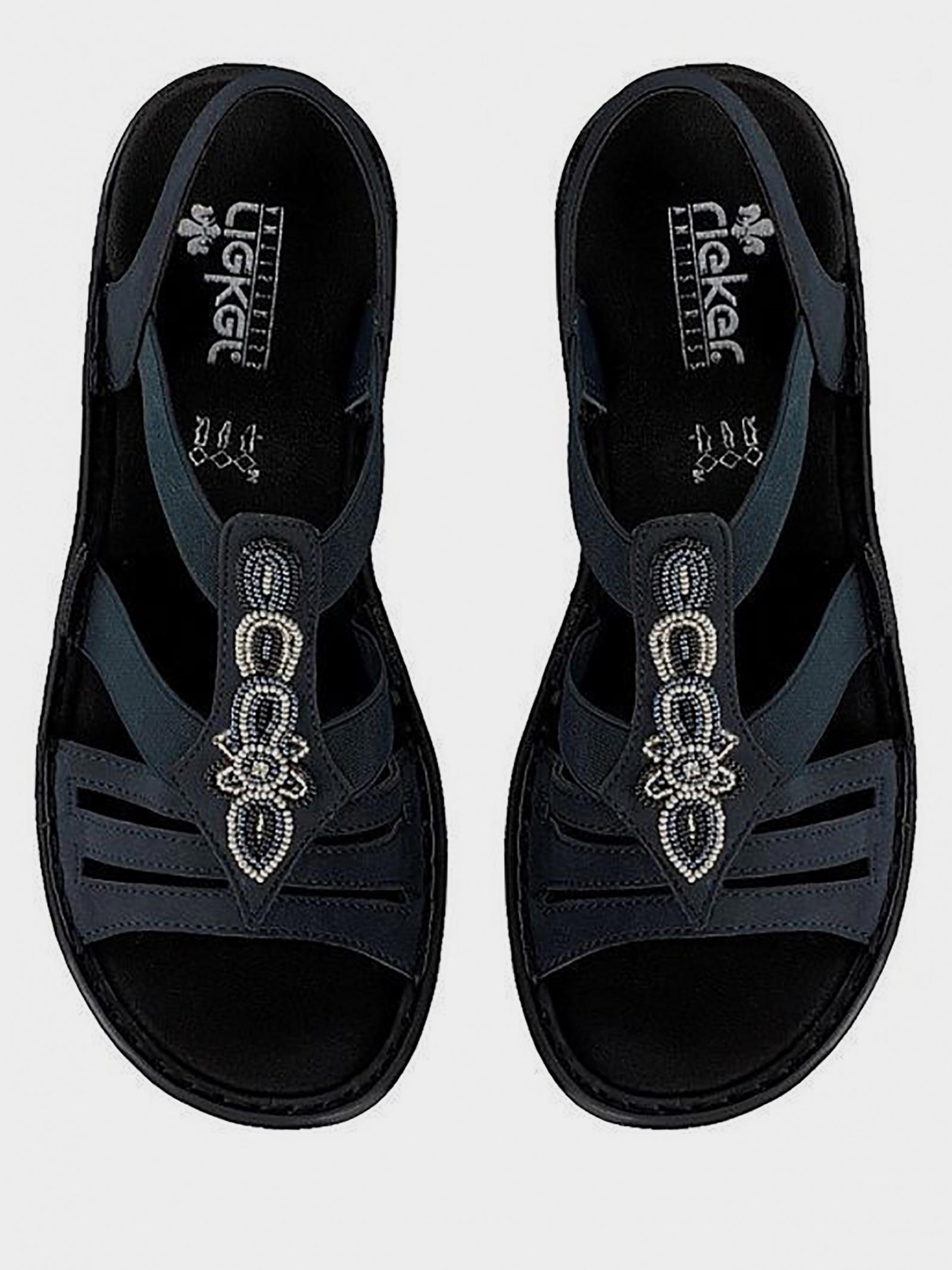 Сандалі  для жінок RIEKER 60836/14 модне взуття, 2017