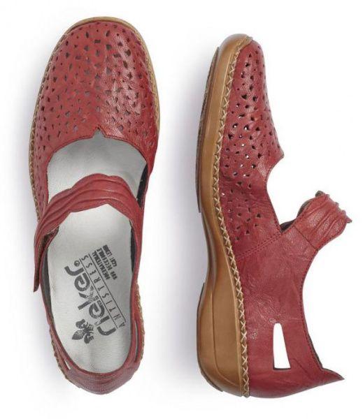 Туфли для женщин RIEKER RW1210 размерная сетка обуви, 2017