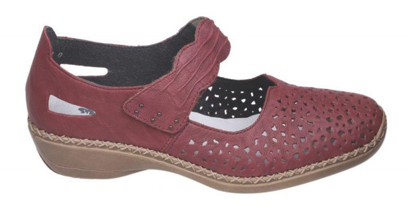 Туфли для женщин RIEKER RW1210 примерка, 2017