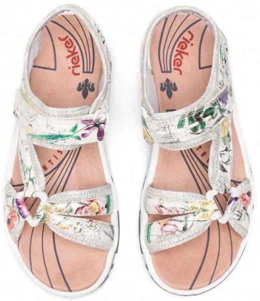 Сандалии для женщин RIEKER RW1225 модная обувь, 2017