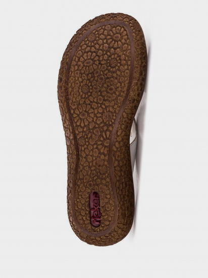 Шльопанці  для жінок RIEKER V69N2/80 модне взуття, 2017