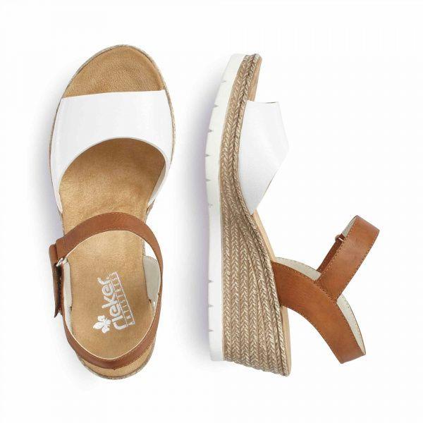 Босоножки для женщин RIEKER RW1266 модная обувь, 2017