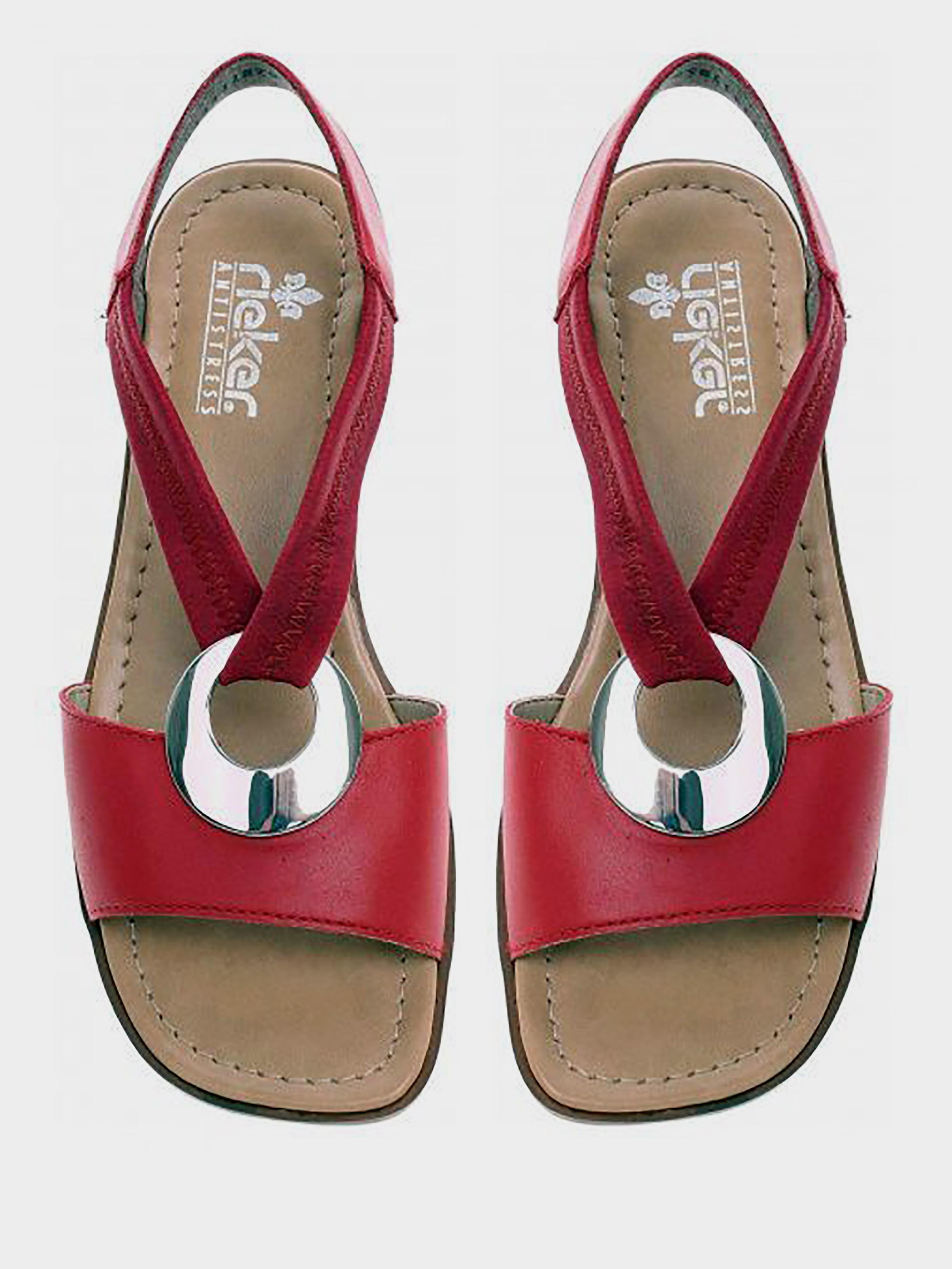Босоножки для женщин RIEKER RW1268 модная обувь, 2017