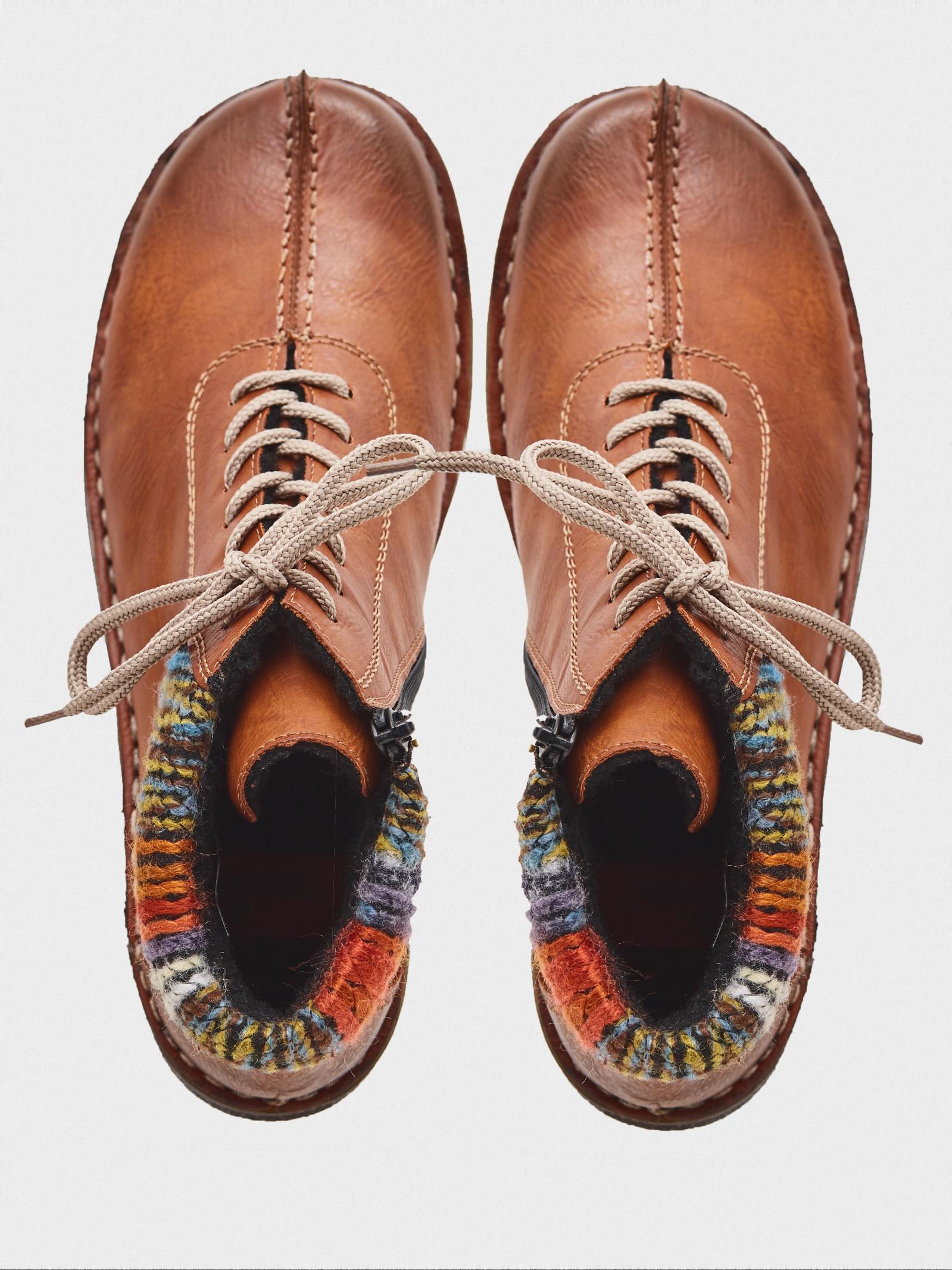 Ботинки для женщин RIEKER 73341/24 стоимость, 2017