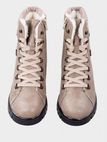 Ботинки для женщин RIEKER X2630/64 модная обувь, 2017