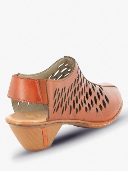 Босоніжки  для жінок RIEKER 46775/24 модне взуття, 2017