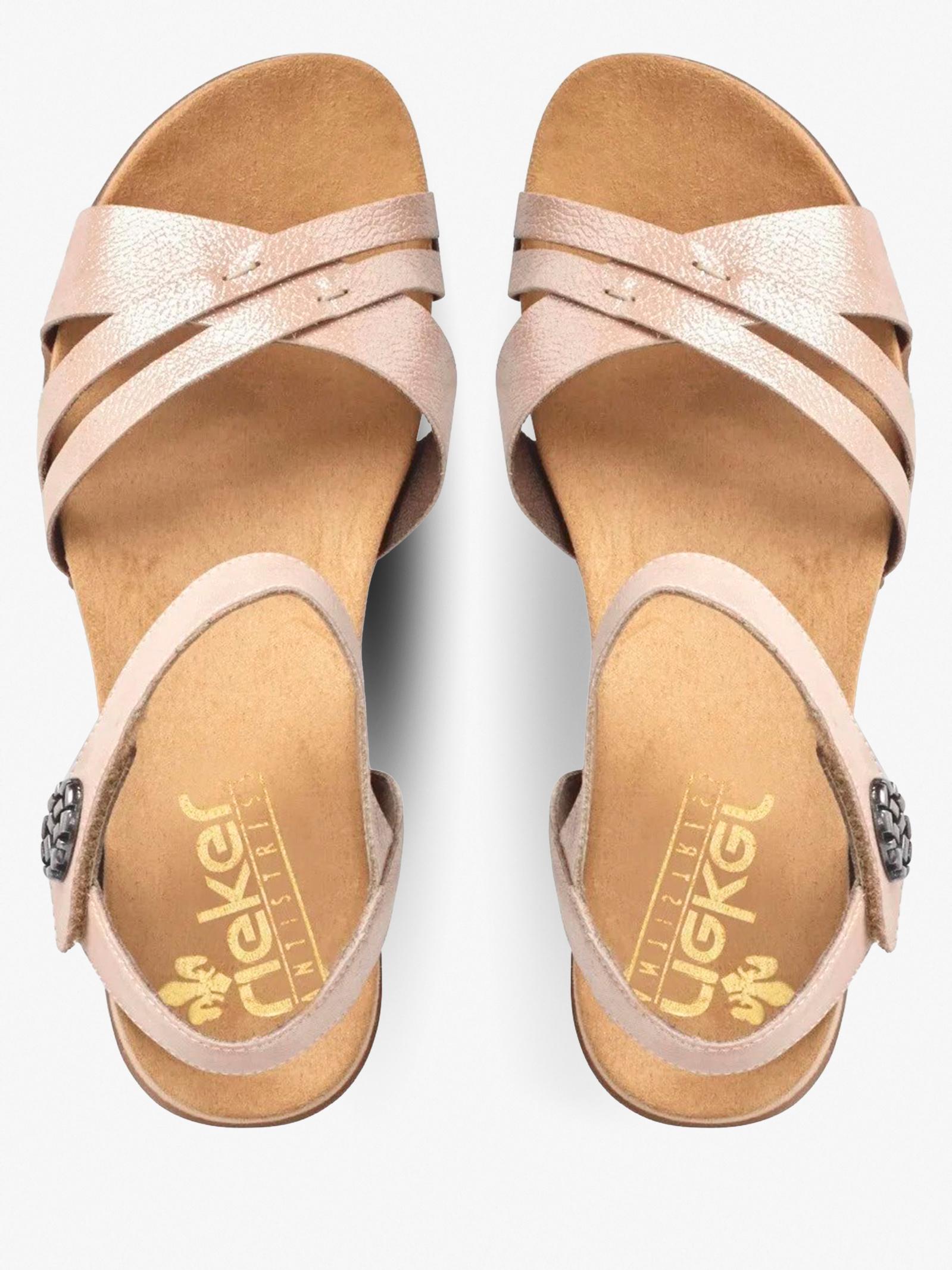 Сандалии для женщин RIEKER 60553/31 купить обувь, 2017