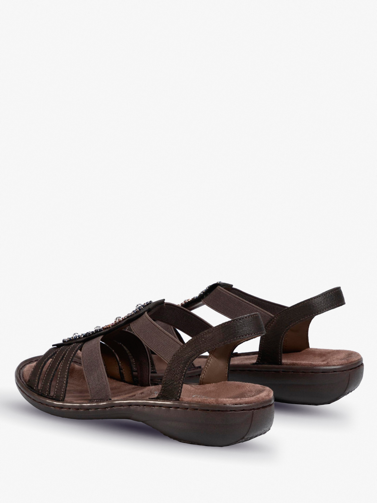 Сандалии женские RIEKER 608G9/45 размерная сетка обуви, 2017