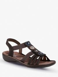 Сандалии женские RIEKER 608G9/45 размеры обуви, 2017