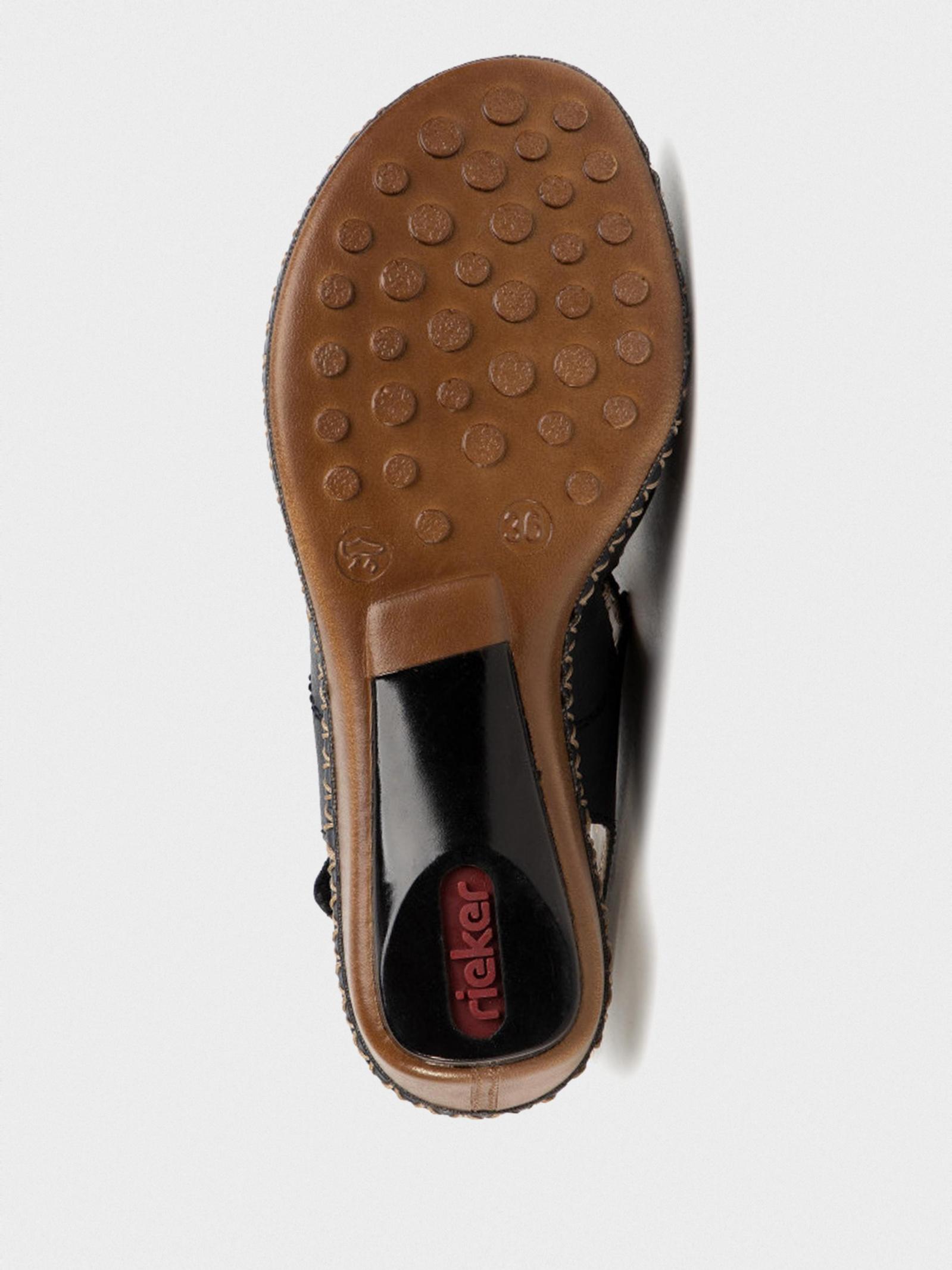 Босоніжки  для жінок RIEKER 66150/14 модне взуття, 2017