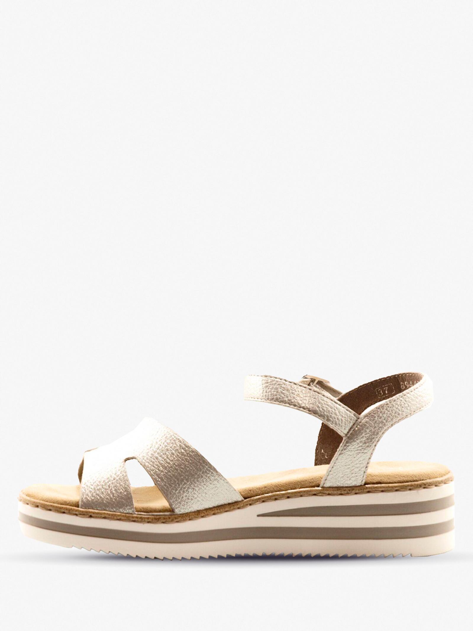 Сандалі  для жінок RIEKER V0254/90 розміри взуття, 2017