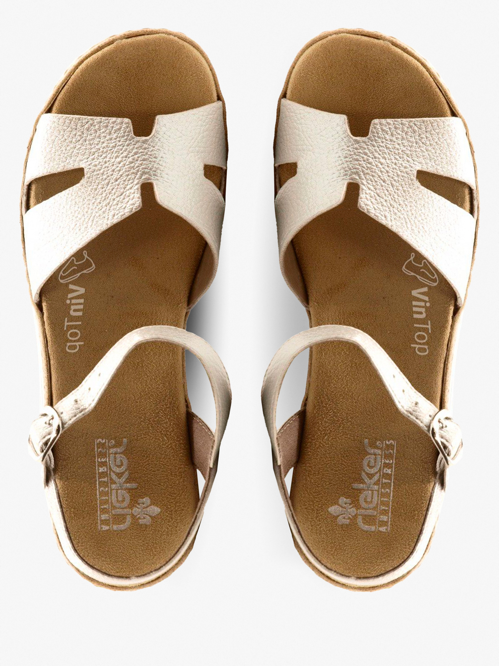Сандалі  для жінок RIEKER V0254/90 модне взуття, 2017