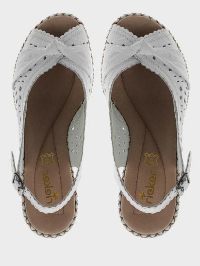 Босоніжки  для жінок RIEKER 66176/80 модне взуття, 2017