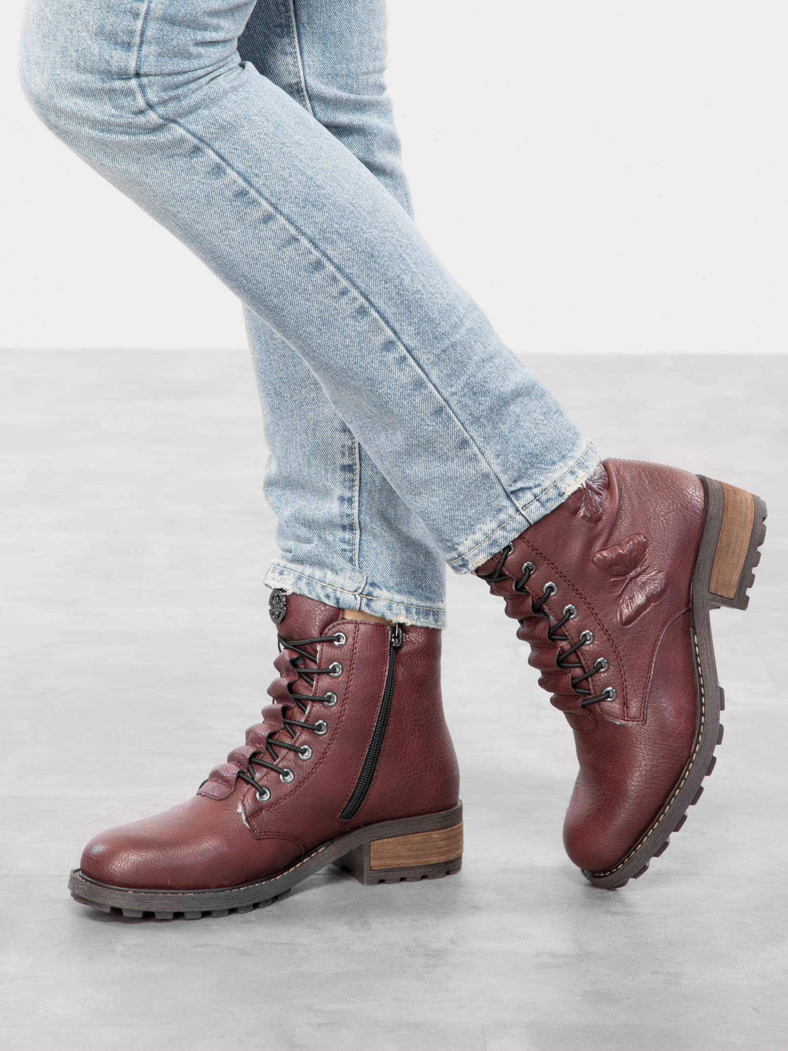 Черевики  для жінок RIEKER // розміри взуття, 2017