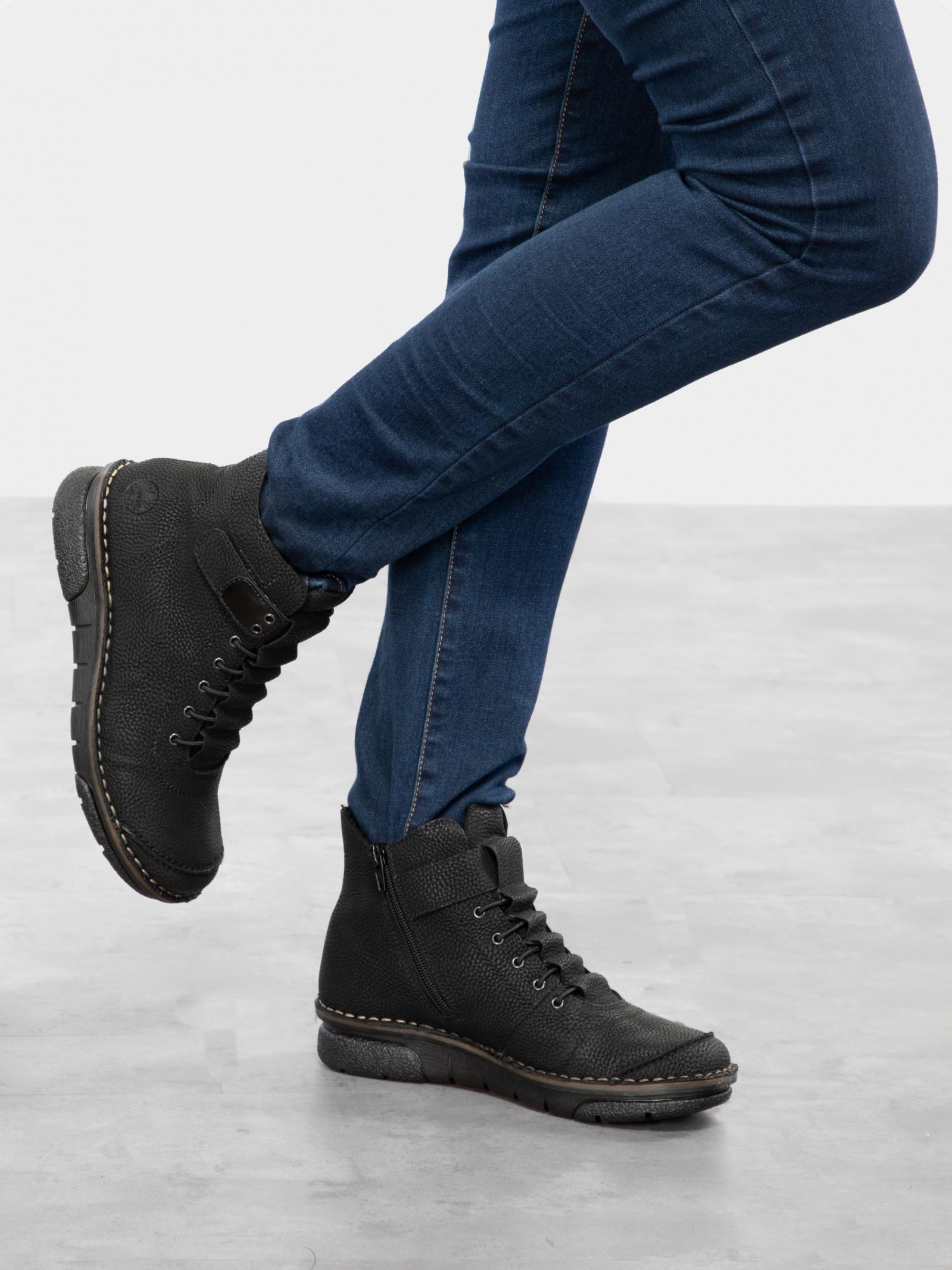 Черевики  для жінок RIEKER 73383/00 брендове взуття, 2017