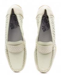 Мокасины женские RIEKER 40556(80) модная обувь, 2017