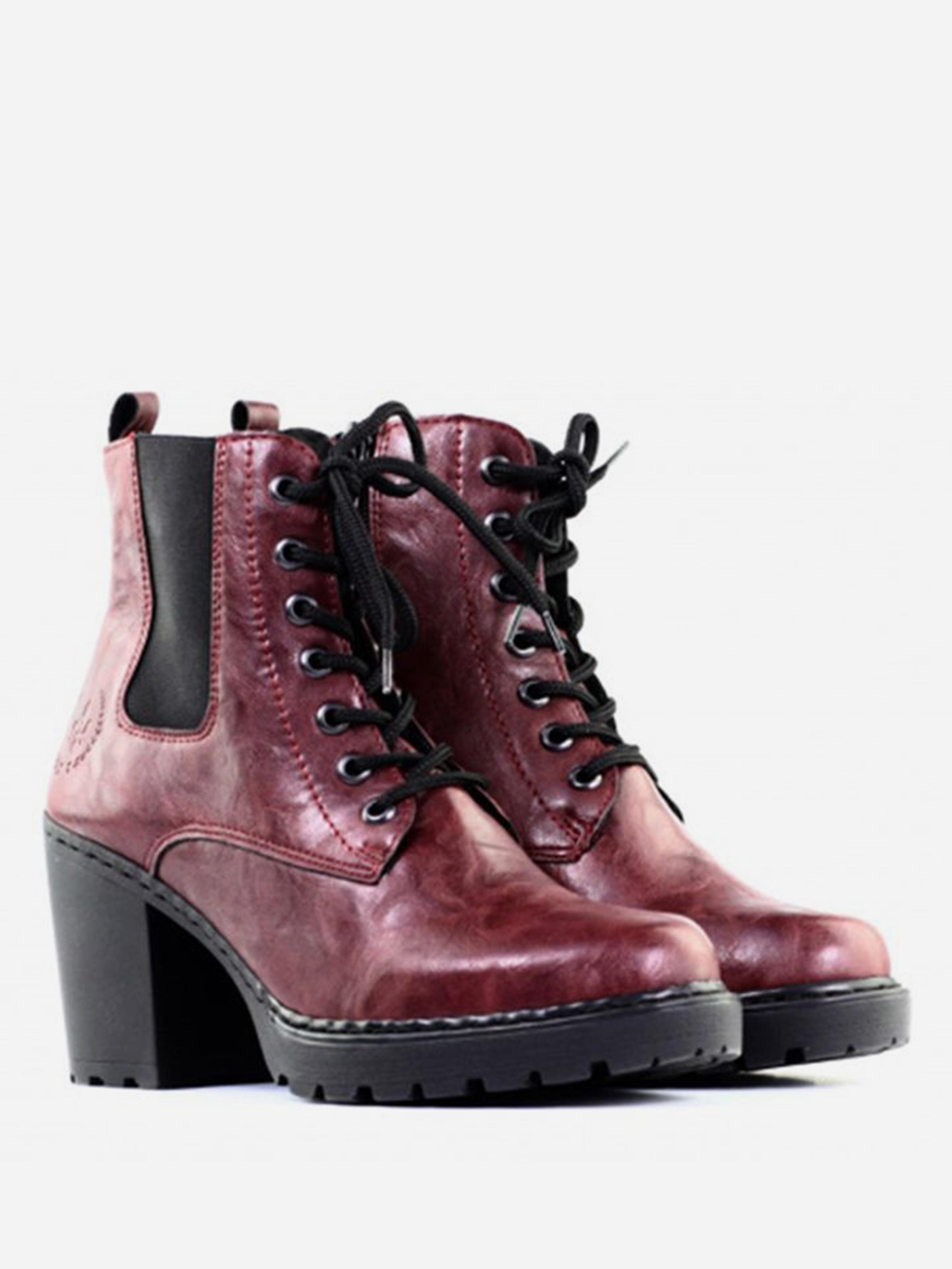 Ботинки для женщин RIEKER RW969 брендовые, 2017