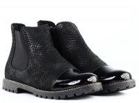 женская обувь RIEKER черного цвета, фото, intertop