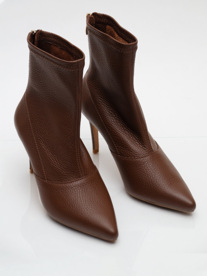Черевики  для жінок Nazary Rainbow-brown брендове взуття, 2017