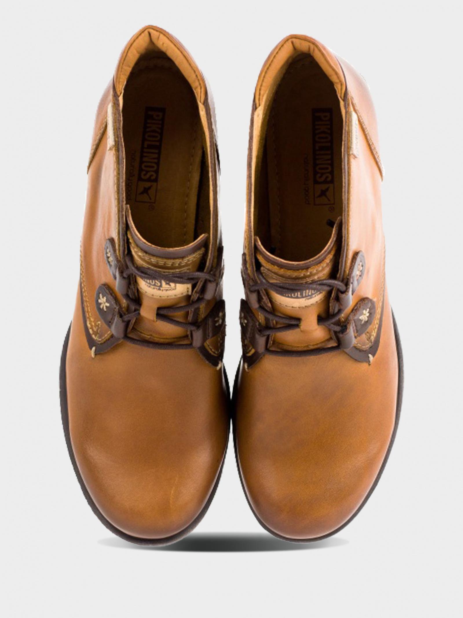Ботинки женские PIKOLINOS LE MANS 838 838-8657_BRANDY фото, купить, 2017