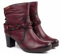 женская обувь PIKOLINOS бордового цвета, фото, intertop