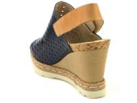 Босоножки женские PIKOLINOS BALI W3L-0922_BLUE|CAMEL брендовая обувь, 2017