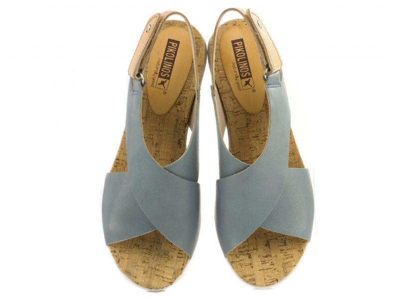 Босоножки женские PIKOLINOS MYKONOS W1G-0757 CR_BLUE CAMEL брендовая обувь, 2017