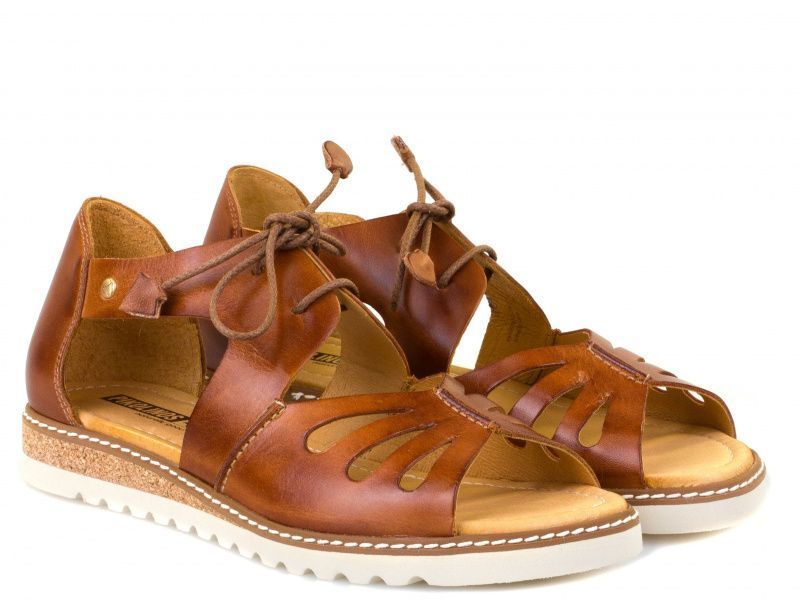Сандалии женские PIKOLINOS ALCUDIA W1L W1L-0917_BRANDY брендовая обувь, 2017