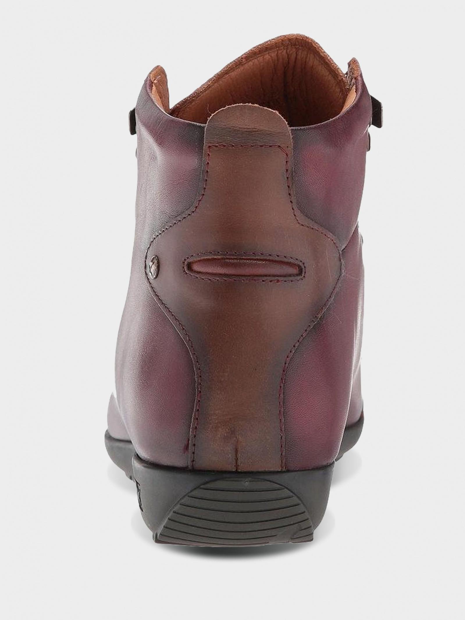 Ботинки женские PIKOLINOS LISBOA W67-7667C5_GARNET цена обуви, 2017