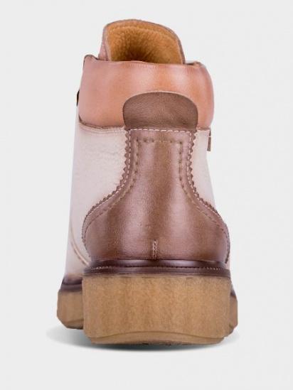 Черевики зі шнурівкочеревики зі шнурівко PIKOLINOS модель W0U-8648_MARFIL — фото 3 - INTERTOP