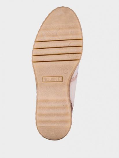 Черевики зі шнурівкочеревики зі шнурівко PIKOLINOS модель W0U-8648_MARFIL — фото 4 - INTERTOP
